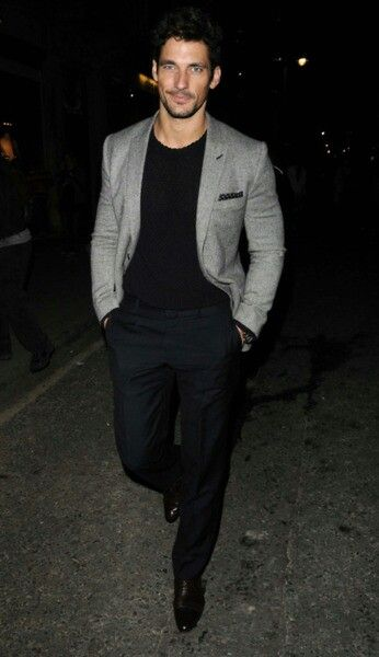 David Gandy Style, semi casual