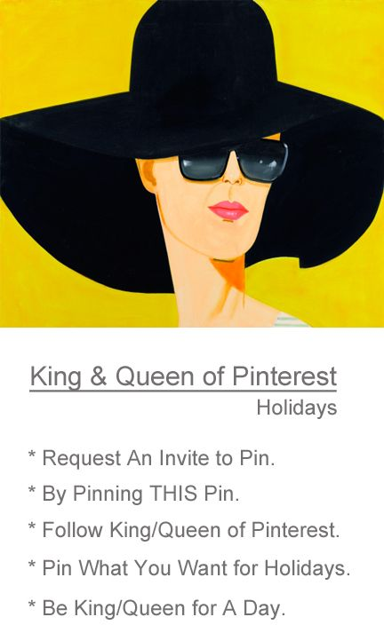 Share your Holiday PINS on Queen of Pinterest.