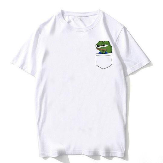 3D Print Funny Frog Pepe Casual Women Men T-Shirt Short Sleeve Tee Tops Unisex