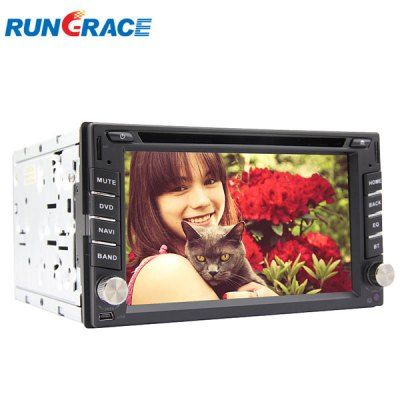 $401.19 (Buy here: http://appdeal.ru/aish ) Rungrace RL - 257AGDR 6.2 inch Multi - Touch Screen DVB - T In - Dash Car DVD Player for just $401.19