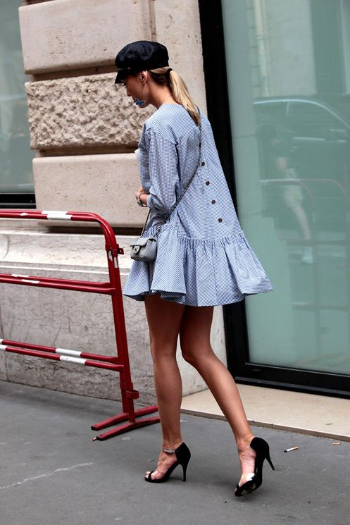 Seasonal Shopping: Blue Dress