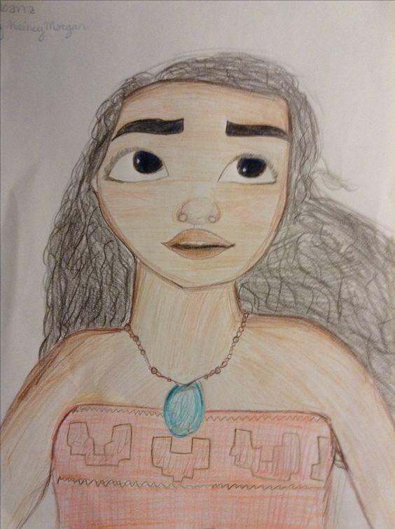 Moana, disneys 2016 disney princess.🌺