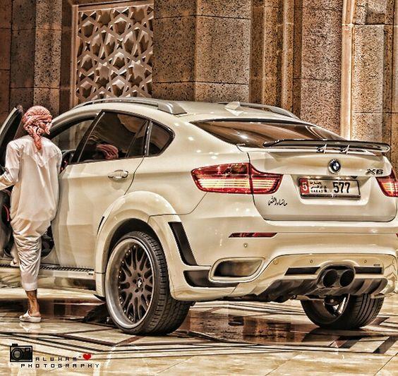 Bmw x6  Arab