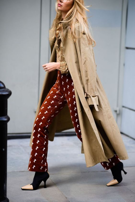 London Calling: The Chicest Looks on the Street for LFw Fall 2018 - HarpersBAZAAR.com