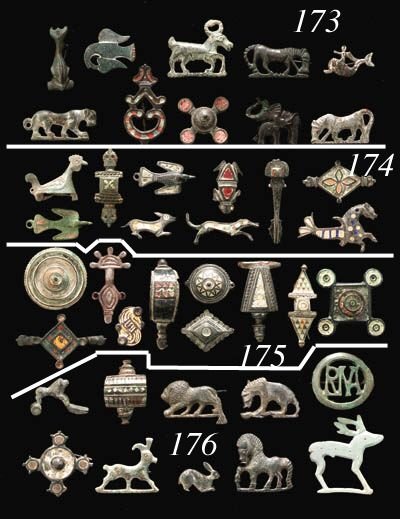 ROMAN AND MEROVINGIAN BROOCHES circa 1st-6th century a.d.