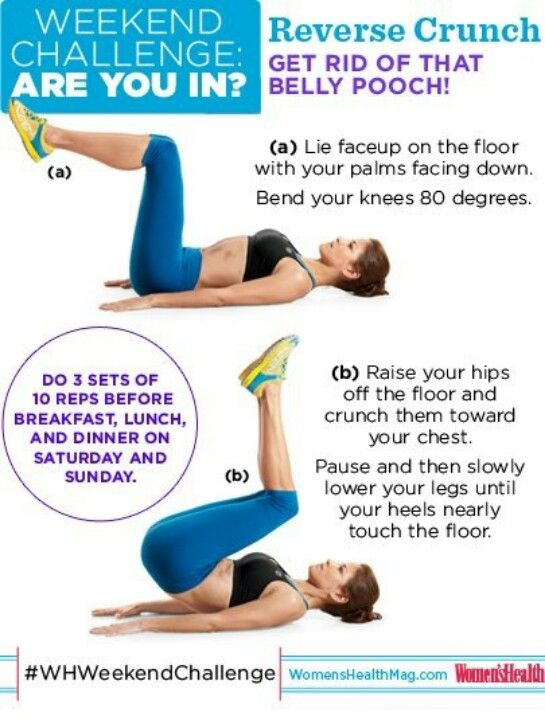 just incase u don't know how to do reverse crunches( I know i didn't )