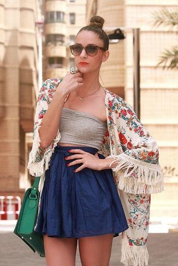Street style looks de verano - StreetStyle - Moda Primavera Verano 2013 - Elle - ELLE.ES