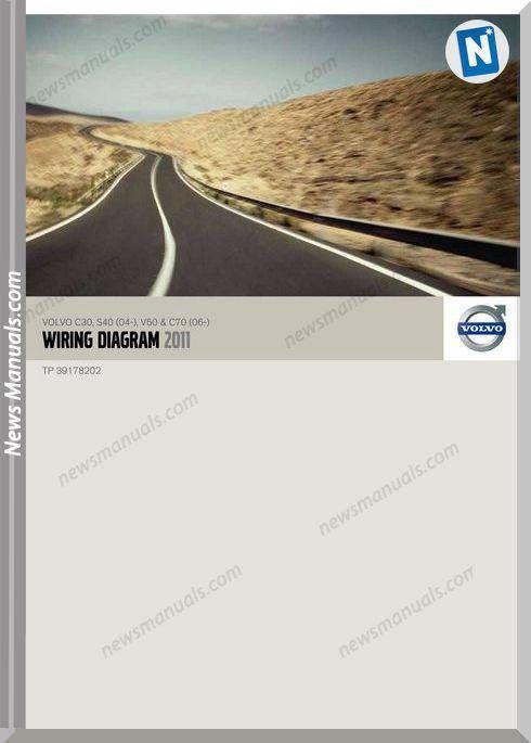 Volvo C30 S40 04 V50 C70 06 2011 Wiring Diagram Volvo Diagram Volvo Xc60