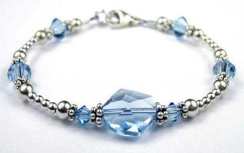 handmade beaded bracelets swarovski crystals and