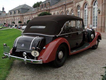 MAYBACH SW38 Spohn Cabriolet 1937 Classic Gala de Schwetzingen 2009 4