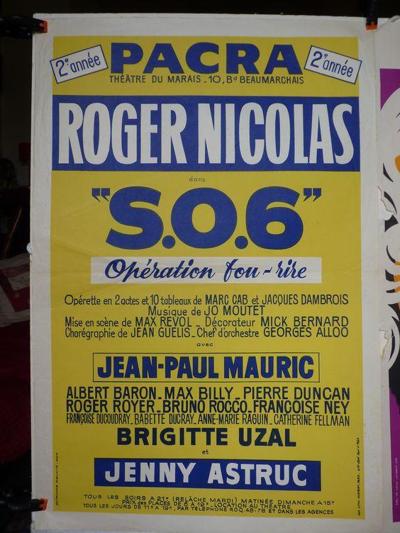Théâtre du Marais Pacra. SO6