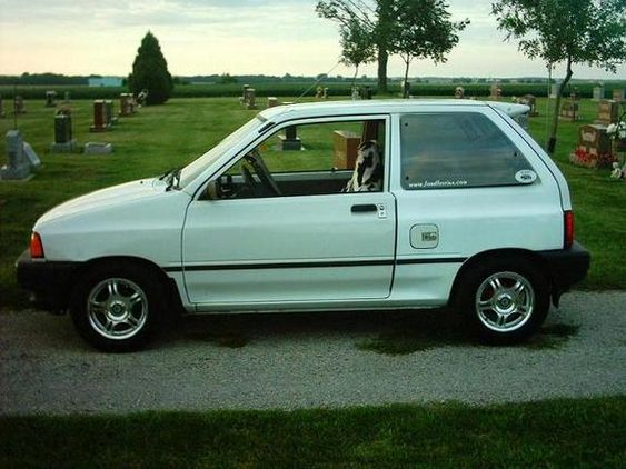 Because Pinterest Needs More Pictures Of A Convertible Ford Festiva Thats Why