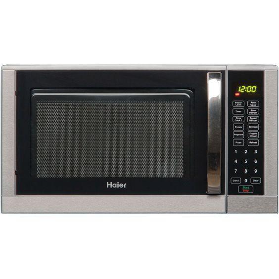 Haier 0.9 Cu. Ft. 900W Countertop