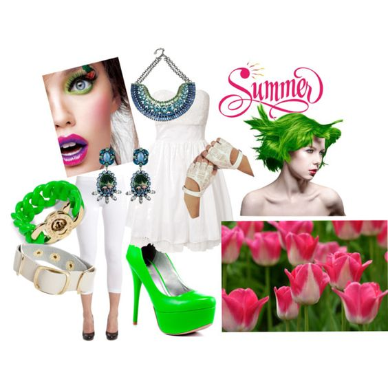"""For the Summer"" by kcfash on Polyvore"