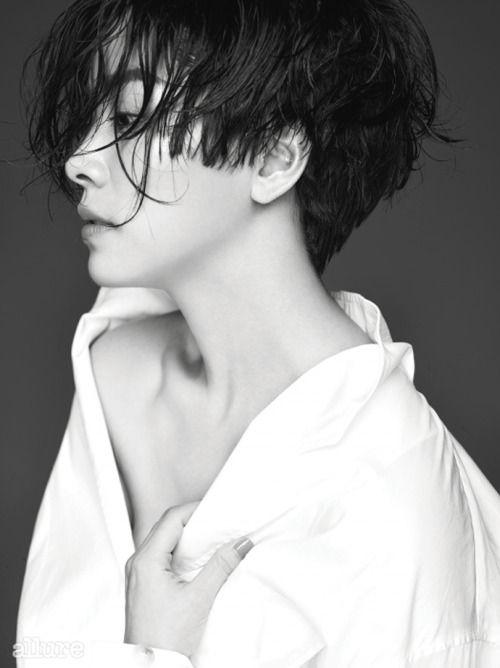 stylekorea:  Allure Korea Model:Han Ji Min September 2014
