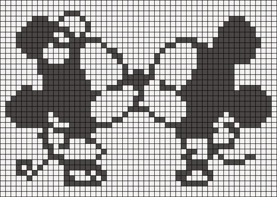 #CrossStitch Mickey | Life is like a Kinder Surprise