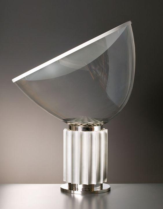 Taccia designed in 1962 by italian designers achille for Castiglioni light