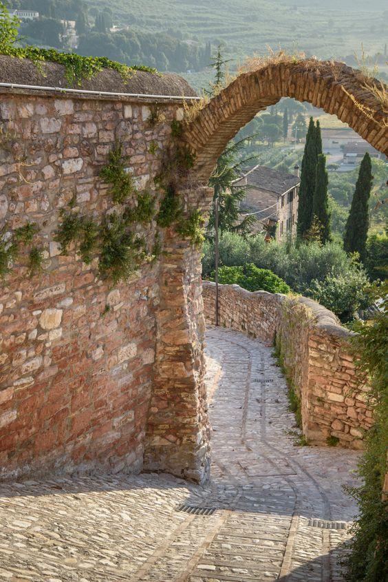 hopeless wanderer.  Spells, Umbria, Italy.