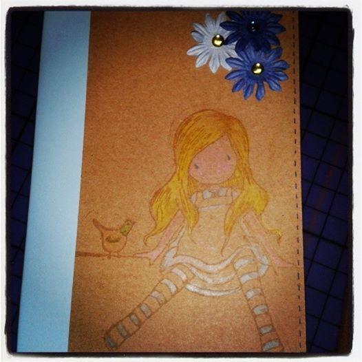 """ Like..."" New Notebook serie 1 - Like Alice  Sized: A6 Inside: fogli bianchi Price: 7 euro"