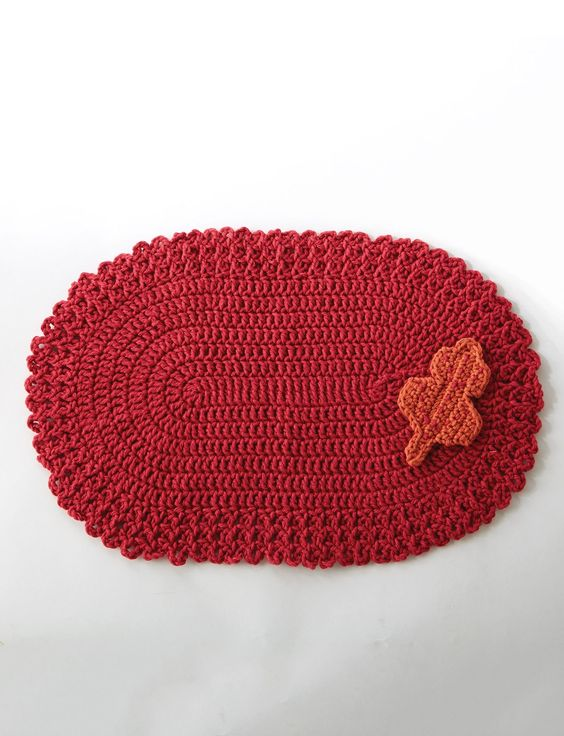 Placemat, Great gifts and Free pattern on Pinterest