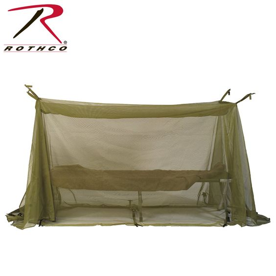 Rothco G.I. Type Enhanced Field Size Mosquito Net Bar