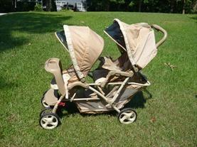 Graco DuoGlider LX Double Stroller  Price: $70.00