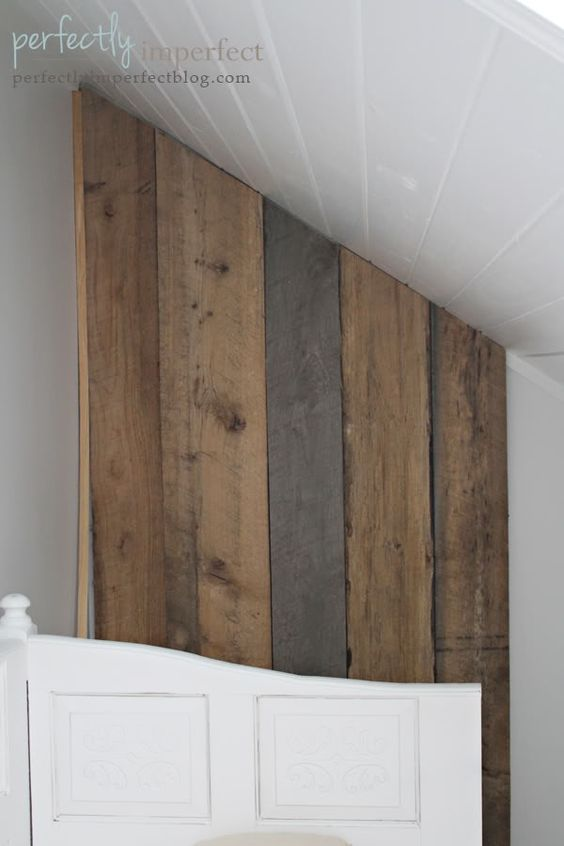 build your own removable plank wall   Perfectly Imperfect Blog