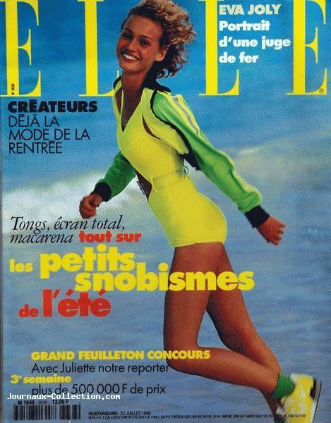 Viola Haqi  -  Elle France 90s