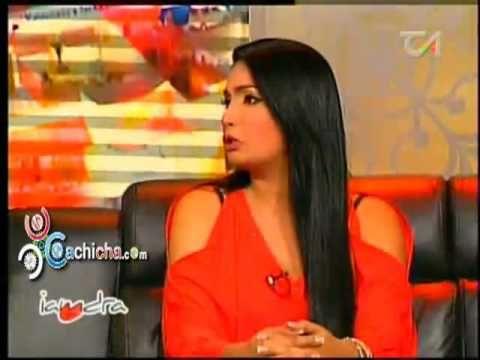 Entrevista a @AnabelAlberti dando fuerte declaraciones con @Iamdra #Video - Cachicha.com