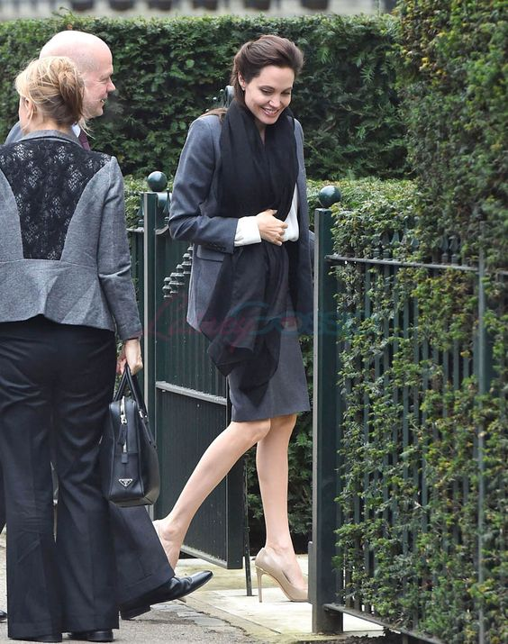 Angelina Jolie in London for meeting with William Hague following Centre for Women, Peace and Security announcement Lainey Gossip Entertainment Update