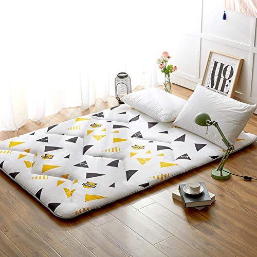 Thickened Single Bed Mat Folding Floor Mat Sleeping Mat Student Dormitory Double Tatami 1 5m Bed Floor Mat Portabl Sleeping Pads Futon Mattress Mattress Topper