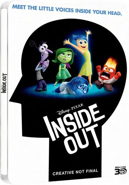 Pixar Post - For The Latest Pixar News: 'Inside Out' Blu-Ray Special Features