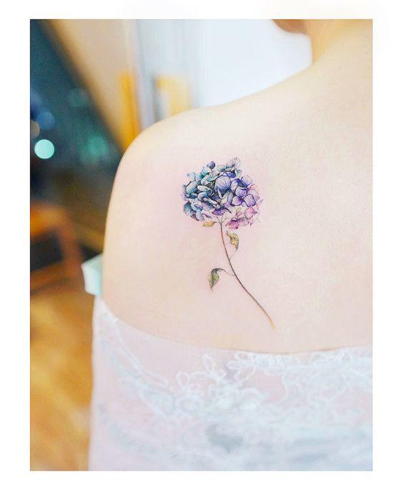 Minimalist Floral Tattoo Clothia Elegant Tattoos Shoulder Tattoos For Women Flower Wrist Tattoos