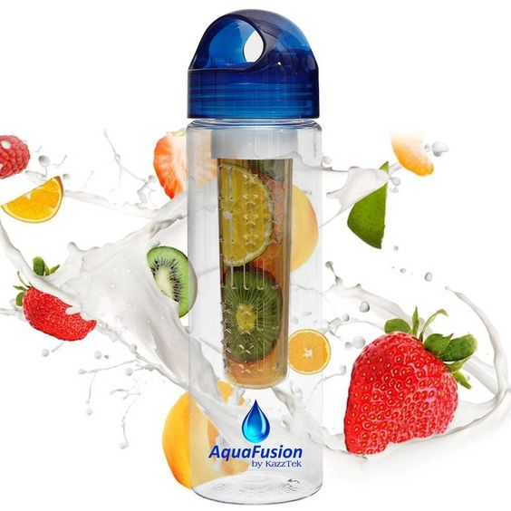 Want healthier alternatives to soda pop? Check out this great Fruit Infusion Water Bottle on Amazon. Take healthier drinks anywhere you go!