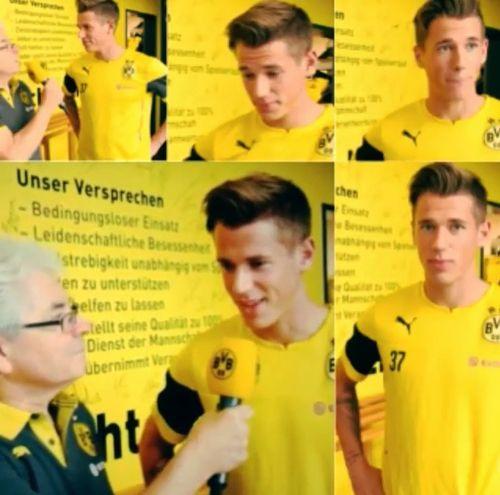 BVB - Spieler: Erik Durm Interview ♥ (part. 7) #erikdurm #durm #37 #bvb #welmeister #cute #interview