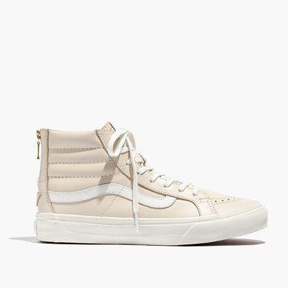Madewell+-+Vans®+SK8-Hi+Slim+Zip+Leather+High-Top+Sneakers