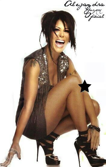 Alejandra Guzman-remember watching her with my grandma ever since I was little. Still til this day. She's like a Mexican Lita Ford to me :):