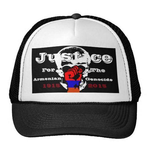 Armenian Genocide Hat  #ArmenianGenocide #100Years #Justice #1915NeverAgain #Hat #Cap