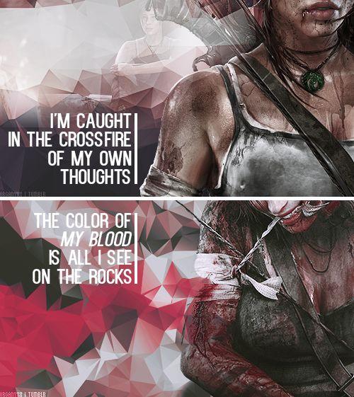 Tomb Raider: My bones will bleach, my flesh will flee