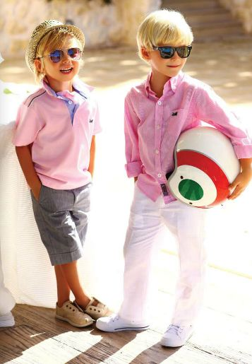 pink and red boys outfits