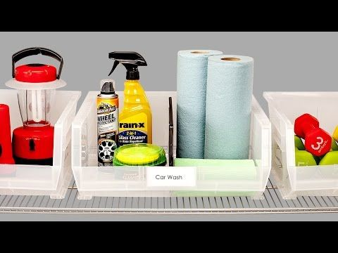 Akro Label Insert Holders | The Container Store