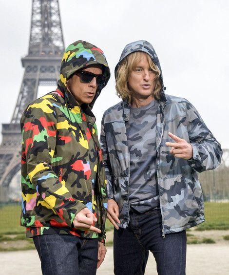 Stiller And Wilson Ham It Up In Paris For 'Zoolander 2'