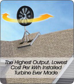Honeywell Wind Turbine 6500