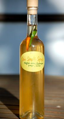 Thai simple syrup using kaffir lime leaves....DON'T WORRY ABOUT IT I ...