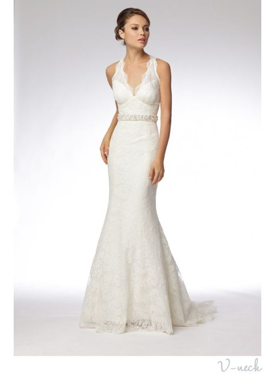 Flattering Wedding Dress For Athletic Build Necklines Find Your Most Onewed My Pinterest
