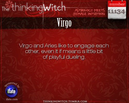 Thinking Witch - Virgo: . http://ifate.com