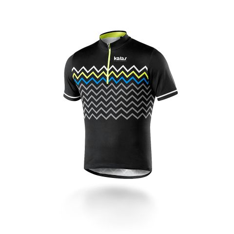 kalas16-biker-m-black cycling jersey
