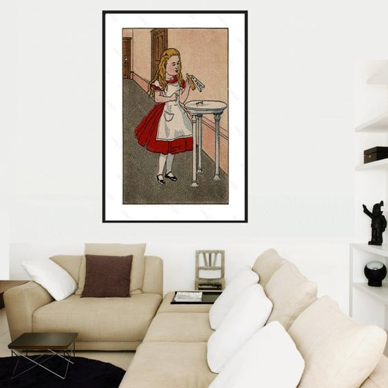 Instant Digital download of Alice and by VintageLithoArt on Etsy