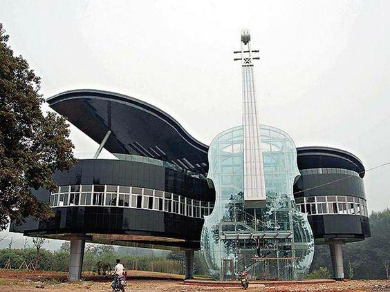 Ecole de musique en Chine.