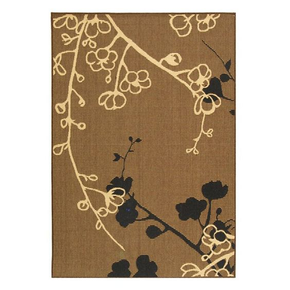 Have to have it. Safavieh Courtyard CY4038D Area Rug Brown Natural/Black $51.99